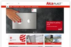Firma Alca plast spustila novou webovou prezentaci