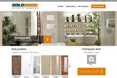 Nový web společnosti SOLODOOR