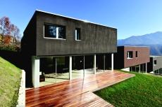Cool odstíny Baumit pro tmavé fasády