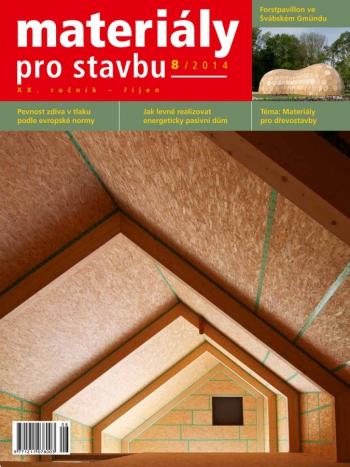 Materiály pro stavbu 8/2014
