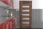 Strukturovaný povrch dveří SOLO 3D se vzhledem dřeva