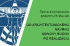Konference Teorie a konstrukce pozemních staveb