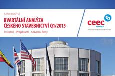 CEEC Research: Kvartální analýza českého stavebnictví Q1/2015