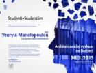 Přednáška: Yeoryia Manolopoulou – Architektonický výzkum na Bartlett School