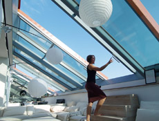 Luxusní posuvné střešní prosklení Solara