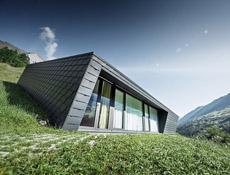 Rodinný dům ve Švýcarských Alpách s výrobky firmy PREFA Aluminiumprodukte