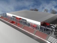 Telč bude mít do prosince nový krytý zimní stadion za 70 miliónů Kč