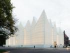 Vítězem Ceny Miese van der Roheho je budova filharmonie ve Štětíně