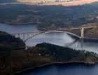 Od poloviny června začne uzávěra Žďákovského mostu