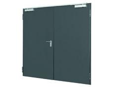 Robustní víceúčelové ocelové dveře D65 OD skvěle izolují
