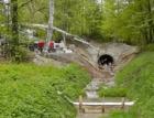 Vodní dílo Mšeno – Kontinuální betonáž šachty do taženého bednění