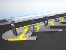 Cestujícím v Litoměřicích slouží nové autobusové nádraží
