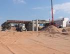 Na novém úseku D11 již rostou mosty