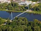 Nejdelší zavěšená lávka pro pěší a cyklisty v České republice