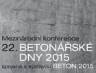 Betonářské dny 2015