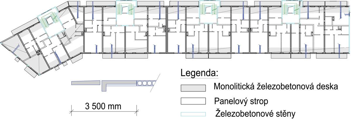 Interiérové dekorace z vícepodlažních budov