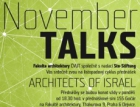 November Talks – izraelští architekti na Fakultě architektury ČVUT