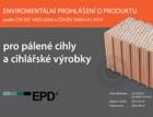 Heluz jako jediný tuzemský výrobce cihel deklaruje certifikátem EPD ekologickou výrobu