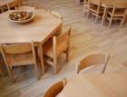Brněnská školka s přírodní ekologickou podlahou Wineo PURLINE a podlahovým vytápěním