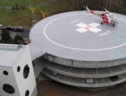 FN Plzeň má nový heliport, jeden z nejmodernějších v ČR