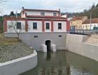 Rekonstrukce betonových konstrukcí malé vodní elektrárny v Brně-Komíně