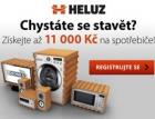 Jarní akce firmy HELUZ – k cihlám můžete získat elektrospotřebiče