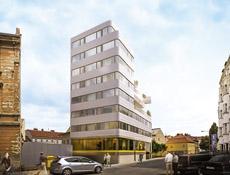 Novostavba v historickém centru Brna