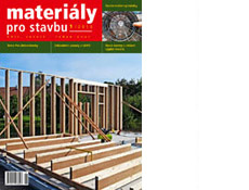 Materiály pro stavbu 1/2016