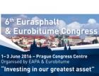 Kongres EURASPHALT & EUROBITUME bude v Praze