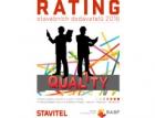 Vychází příloha časopisu Stavitel věnovaná Ratingu stavebních dodavatelů