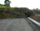 Začalo se s odstraňováním sesuvu zeminy z rozestavěné dálnice D8