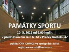 Konference Památky sportu