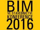 Konference BIM ve stavebnictví 2016