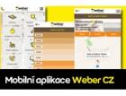 Aplikace Weber CZ do mobilů je ke stažení na Google play a App Store
