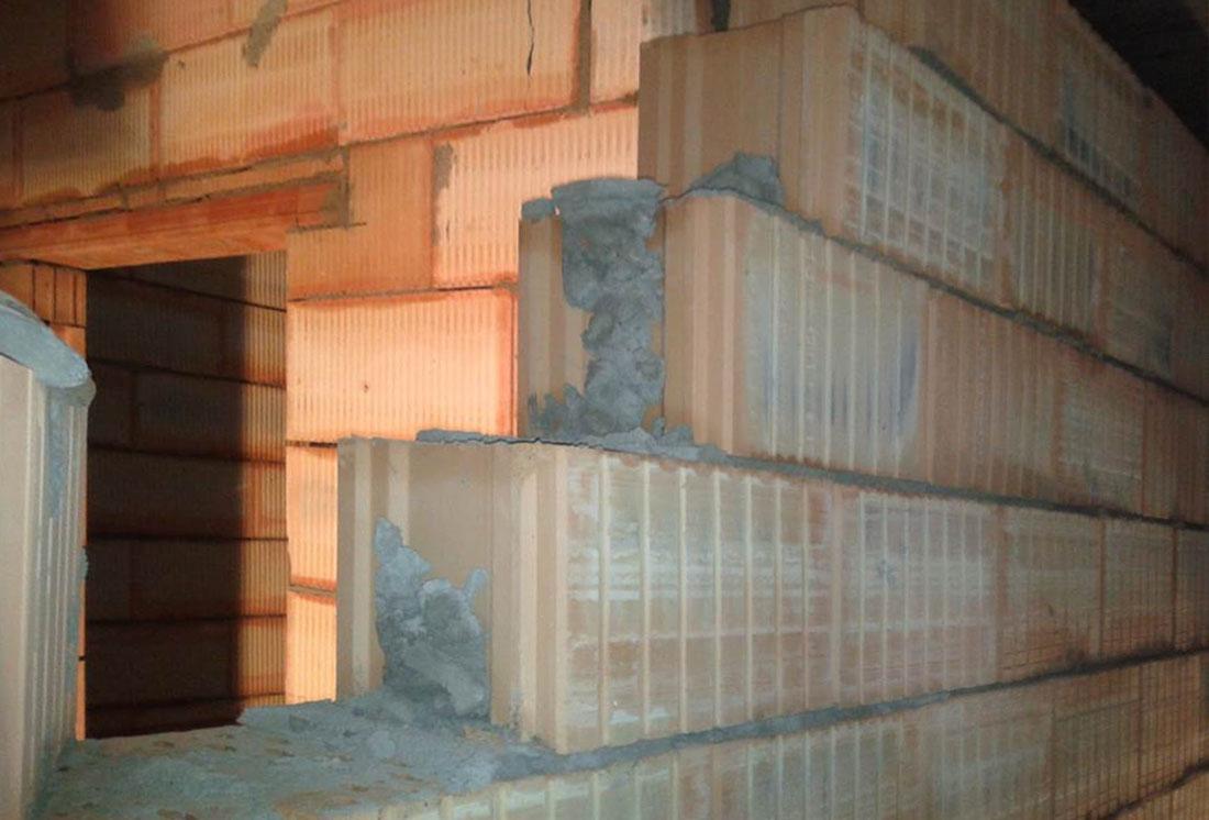 Vyplnit monolitických konstrukcí