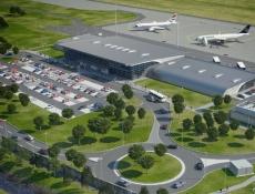 V Pardubicích tento týden začíná stavba letištního terminálu
