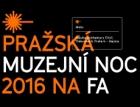 Pražská muzejní noc 2016 a Den otevřených dveří na FA ČVUT