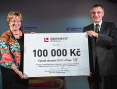 Společnost Obermeyer Helika podpořila finančně Stavební fakultu ČVUT