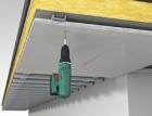 Realizace exteriérového podhledu z desek Powerpanel H2O v provedení s lepenou spárou