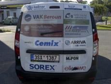 """LB Cemix přispěl na další """"sociální automobil"""""""