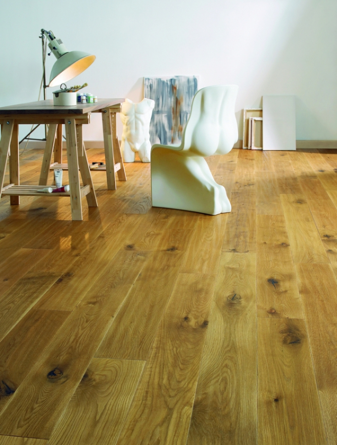 XXL formát, extra matný lak a impregnované spoje v kolekci dřevěných podlah 1FLOOR Newline