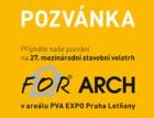 Xella zve na prezentace a přednášky při veletrhu FOR ARCH