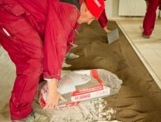 Vyrovnání podlahy suchou cestou – keramzitem