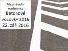 Konference Betonové vozovky 2016