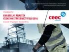 CEEC Research: Kvartální analýza českého stavebnictví Q3/2016