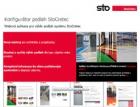 Konfigurator podlahových systémů StoCretec – nový nástroj pro architekty a projektanty