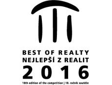 Nominace do finále soutěže o titul Best of Realty – Nejlepší z realit 2016 získalo 37 projektů