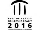 Soutěž Best of Realty – Nejlepší z realit 2016 – výsledky