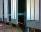 Systém rozmrazování vagónů pro Elektrárny Nováky se sálavými panely ECOSUN