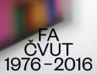 Fakulta architektury ČVUT slaví čtyřicetiny výstavou v Galerii Jaroslava Fragnera